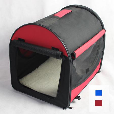 Folding Fabric Dog Crate Cat Carrier Portable Pet Crates
